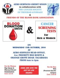 AERO BLOOD DRIVE.CANCER SCREENING TESTS_001