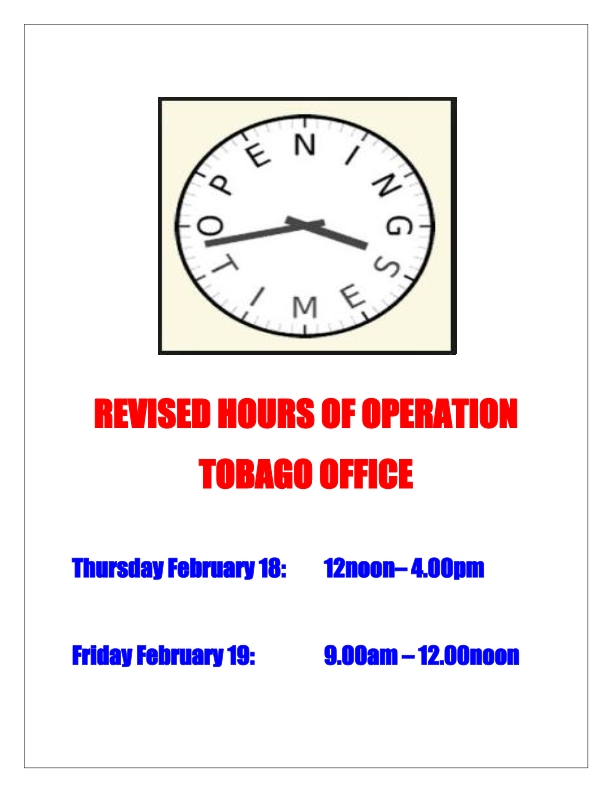 REVISED HOURS OF OPERATION TOBAGO 2_001